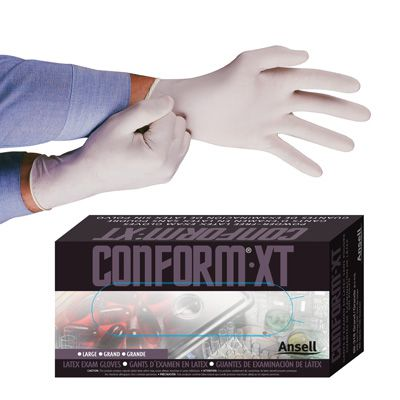 Ansell Conform® Disposable Latex Gloves