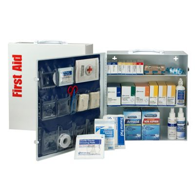ANSI 100-Person Class A+ First Aid Station With Meds