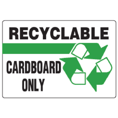 Anti-Microbial Signs - Recyclable Cardboard Only