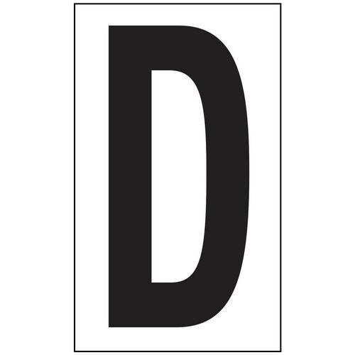 Anti-Slip Aisle Markers - D
