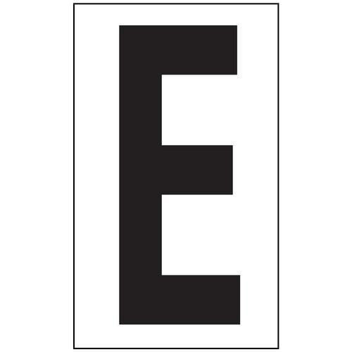 Anti-Slip Aisle Markers - E