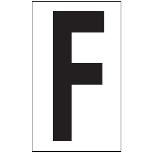 Anti-Slip Aisle Markers - F