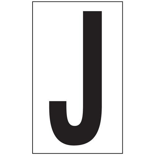 Anti-Slip Aisle Markers - J