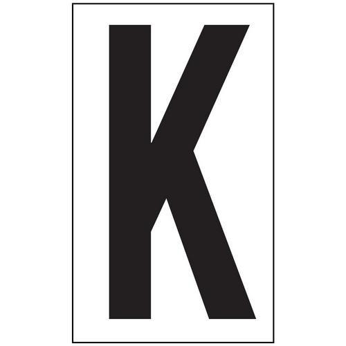 Anti-Slip Aisle Markers - K