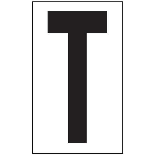 Anti-Slip Aisle Markers - T