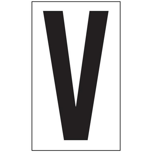 Anti-Slip Aisle Markers - V