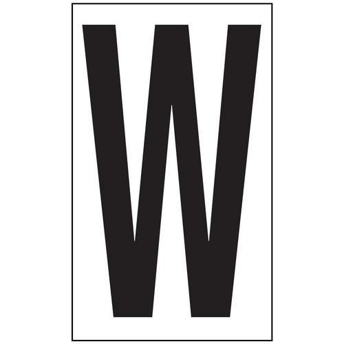 Anti-Slip Aisle Markers - W