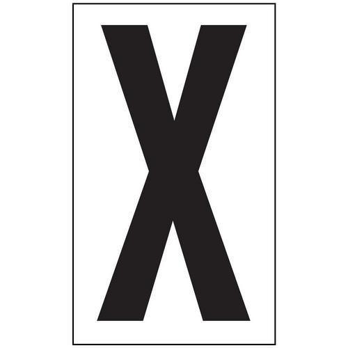 Anti-Slip Aisle Markers - X