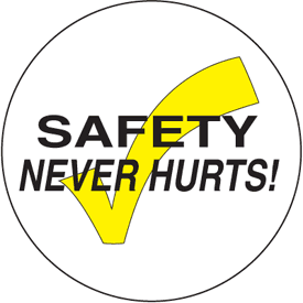 Anti-Slip Safety Floor Markers - Safety Never Hurts