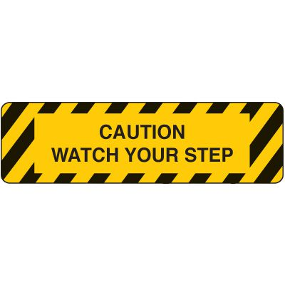 Anti-Slip Stair Markers - Watch Your Step