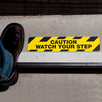 Anti-Slip Step Markers