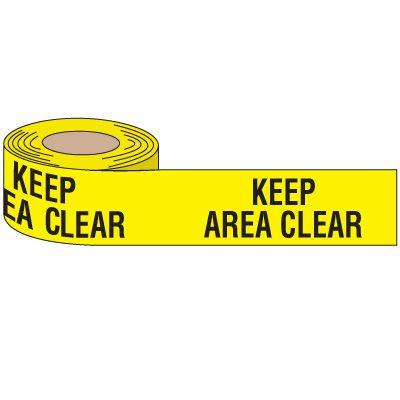 Keep Area Clear Anti-Slip Tape