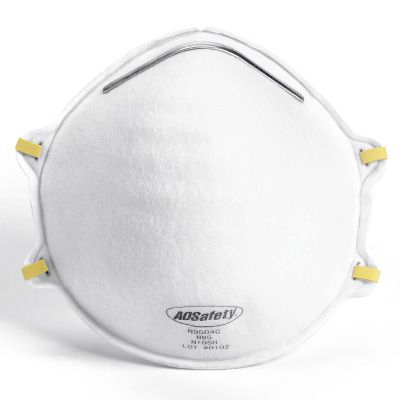 AOSafety N95 Particulate Respirator without Exhalation Valve