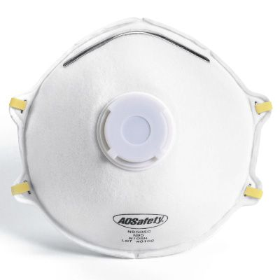 AOSafety N95 Particulate Respirator with Exhalation Valve
