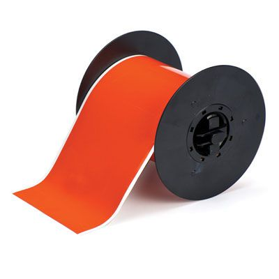 Brady B30C-4000-584-OR B30 Series Label - Orange