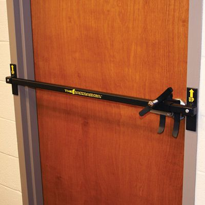 Barracuda Intruder Defense System, Out Swing Door