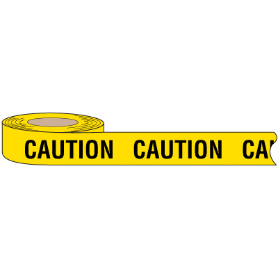 Biodegradable Caution Barricade Tape