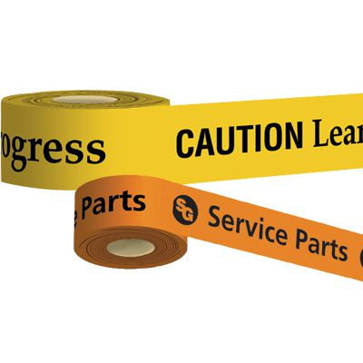 Custom-Worded Barricade Tape