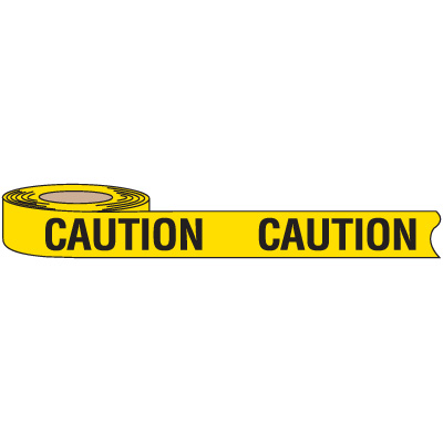 Recyclable Caution Barricade Tape