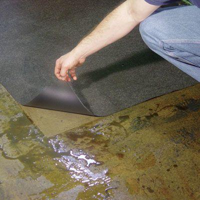 Barrier Spill Absorbent Mats