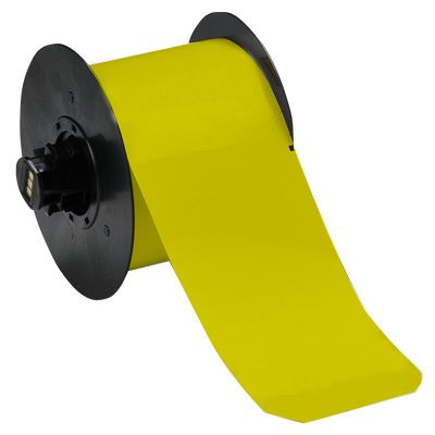 Brady B30C-3000-595-YL B30 Series Label - Yellow