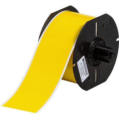 Brady B33C-2000-437YL BBP33 Label - Yellow