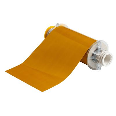 BBP®85 Series Label: Polyimide, Ochre, 7 in W x 50 ft L