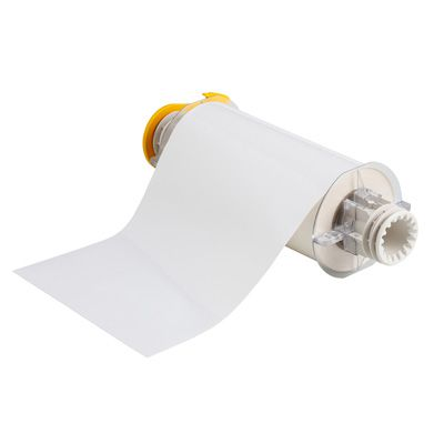 BBP®85 Series Label: Polyimide, White, 7 in W x 50 ft L