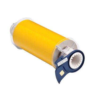 BBP®85 Series Label: Polyimide, Yellow, 7 in W x 33 ft L