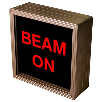 Beam On Backlit LED Sign