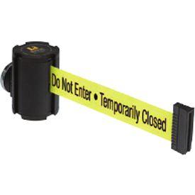 Beltrac® Magnetic Wallmount Retractable Belts - Please Do Not Enter