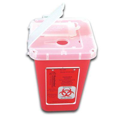 Bemis™ 1-Quart Phlebotomy Container 100-030