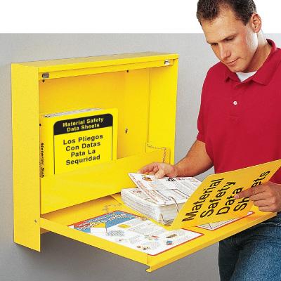 Bilingual MSDS Metal Cabinets