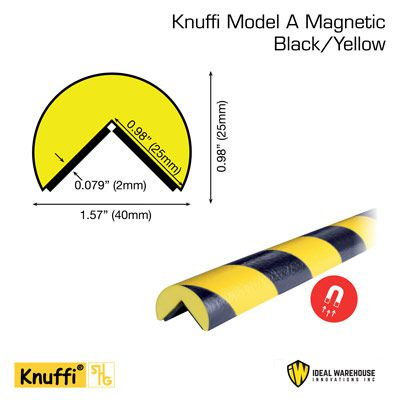Knuffi® Magnetic Round Corner Bumper Guards
