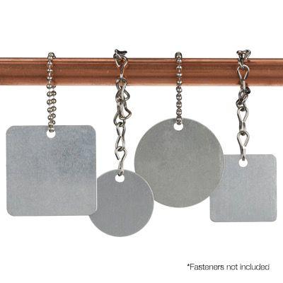 Blank Aluminum Valve Tags