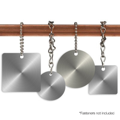 Blank Stainless Steel Valve Tags