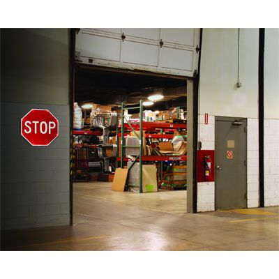 Indoor TAPCO BlinkerSign® Flashing LED STOP Sign 2180-00390