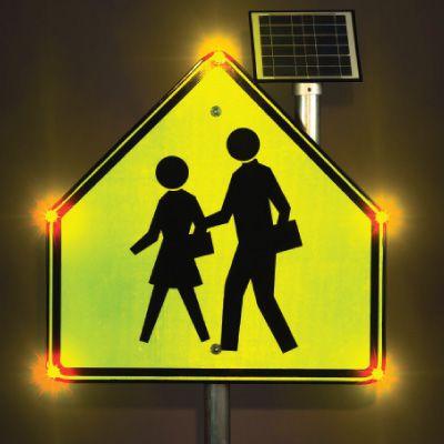 BlinkerSign® - School Crossing