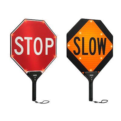 BlinkerPaddles® Rechargeable LED Traffic Paddles