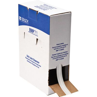 Brady M61C-240-498 BMP71/BMP61 Label - White