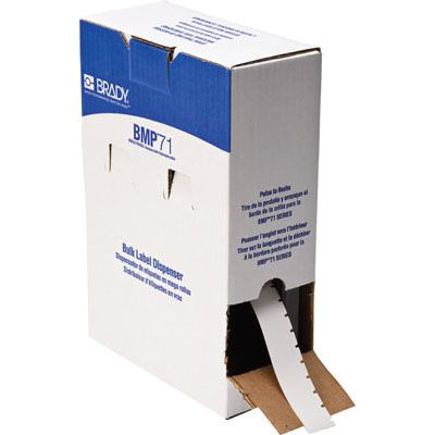 Brady M71C-625-412 BMP71 Label - White