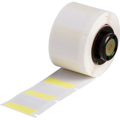 Brady PTL-19-427-YL BMP71 Label - Yellow/Translucent