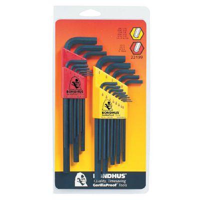 Bondhus® - Hex L-Wrench Combination Sets 22199
