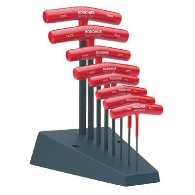 Bondhus® - Standard T-Handle Hex Tool Sets 13389