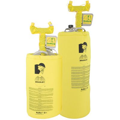 Bradley Heated Portable Pressurized Eyewash Tanks
