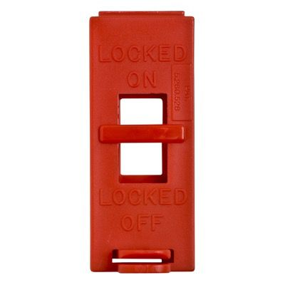Brady 65392 Red Electrical Wall Switch Lockouts - Each