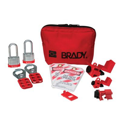 Brady Personal Circuit Breaker Lockout Kit Pouch (105968)