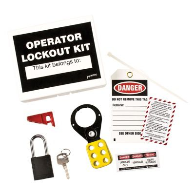 Brady Prinzing Machine Operator Lockout Tagout Kit (45598)