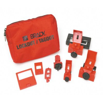 Brady Breaker Lockout Sampler Toolbox Kit - Part Number - 99293 - 1/Each