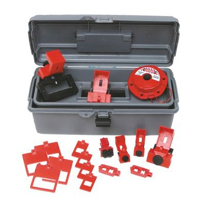 Brady Breaker Lockout Toolbox Kit - Part Number - 99305 - 1/Each